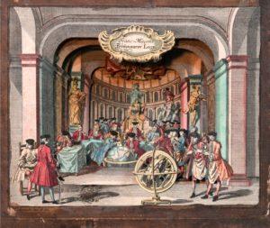 diorama maçonnique 18eme siècle